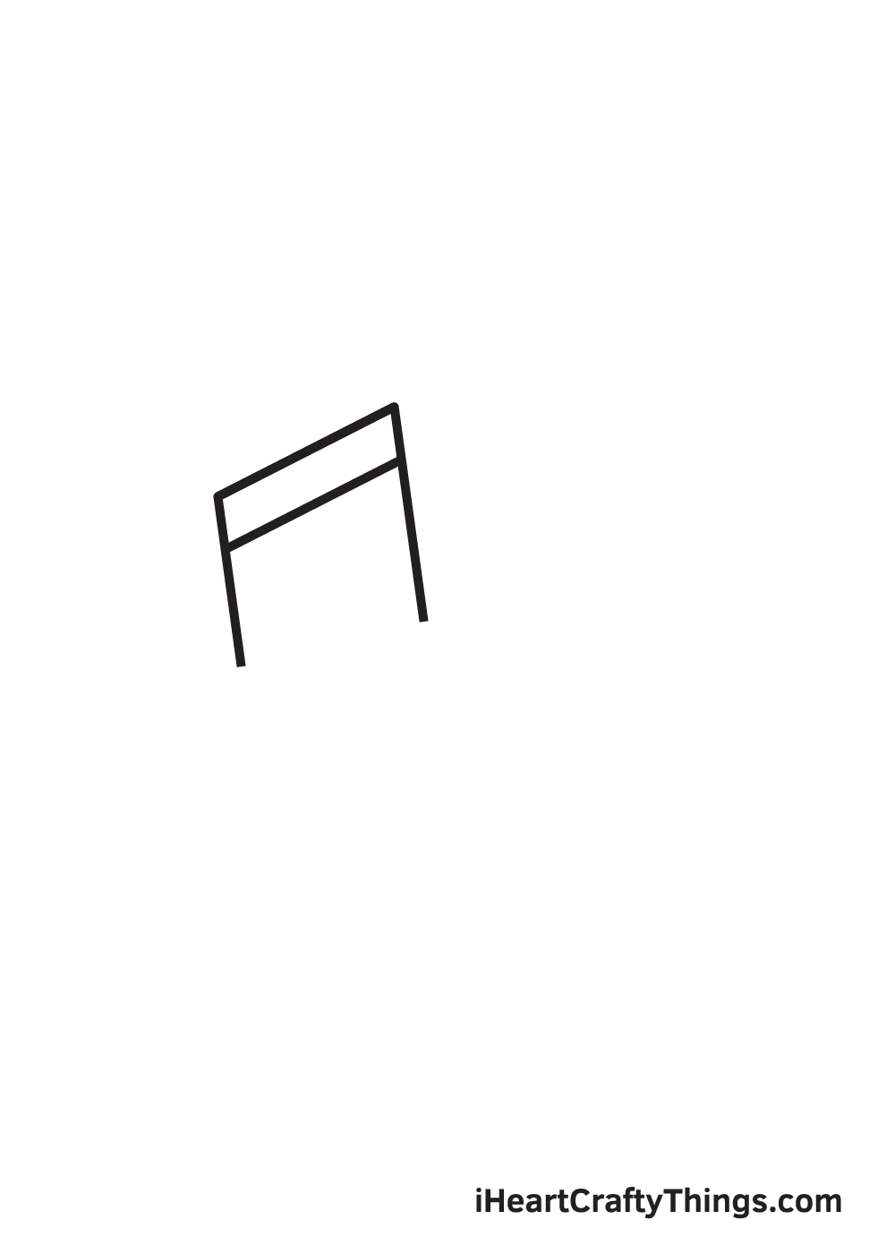 music notes drawing step 1