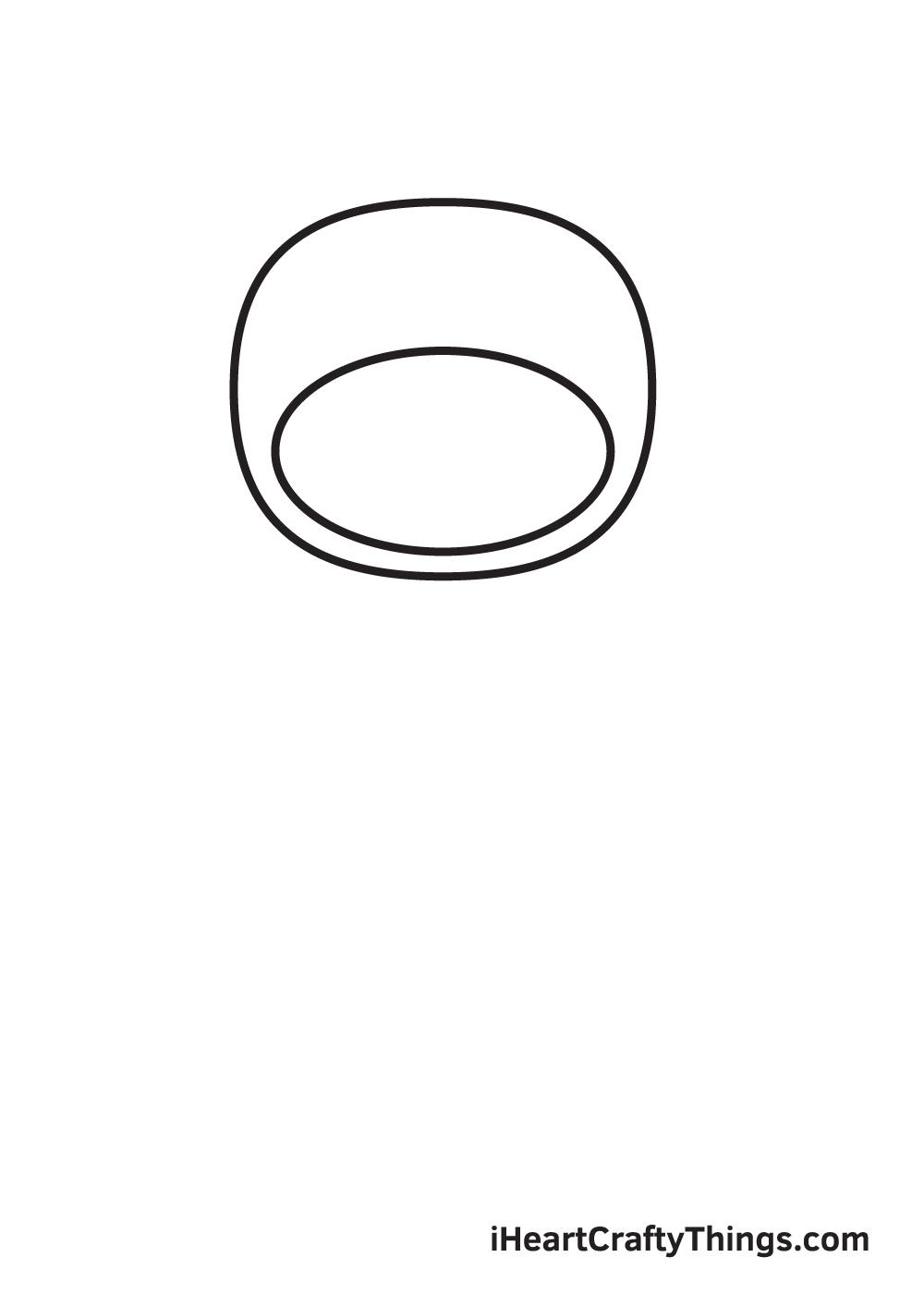 ninja drawing step 2