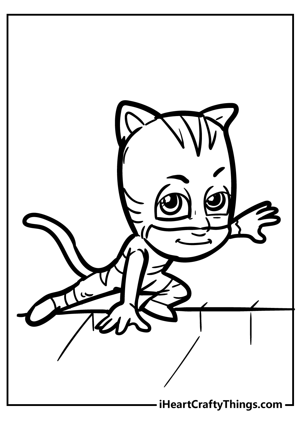 catboy pj masks coloring images free printable