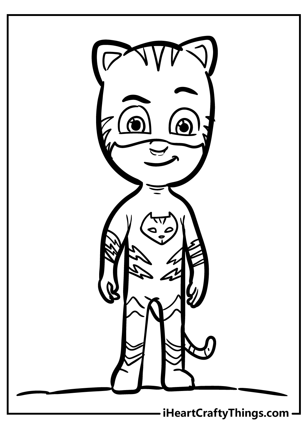 catboy pj coloring pages free pdf
