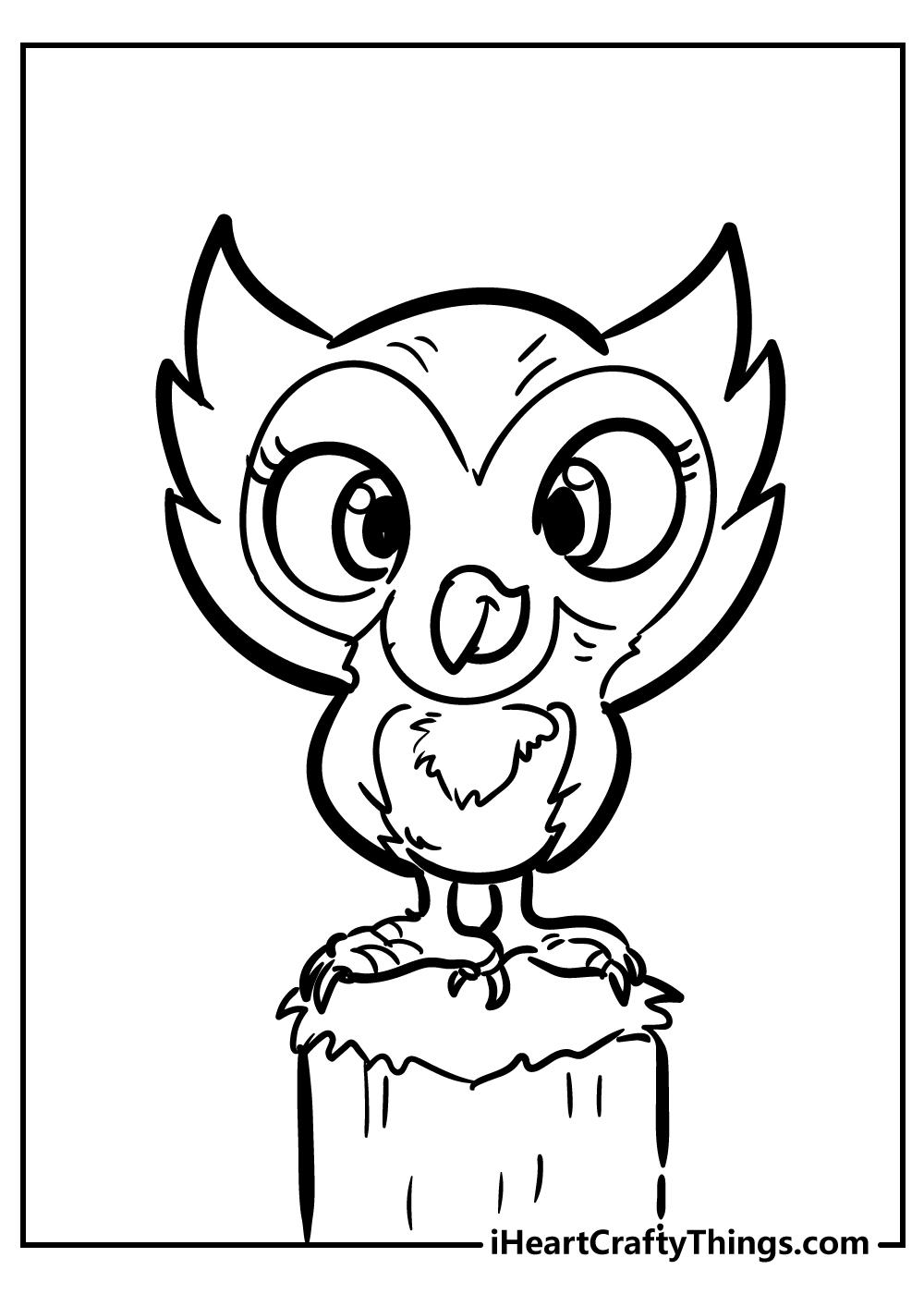 owl pj masks coloring pages free printable