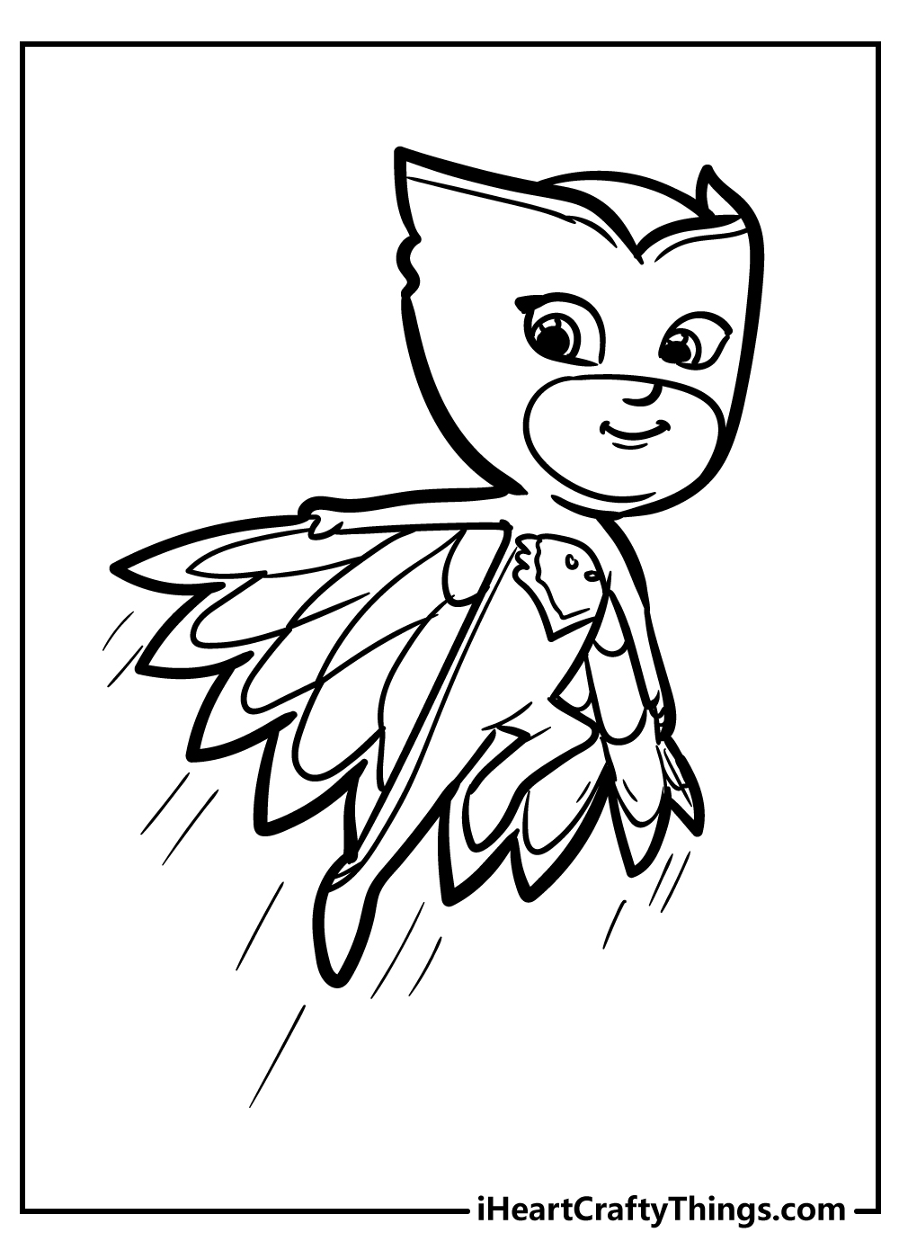 owlette pj masks coloring pages free printable