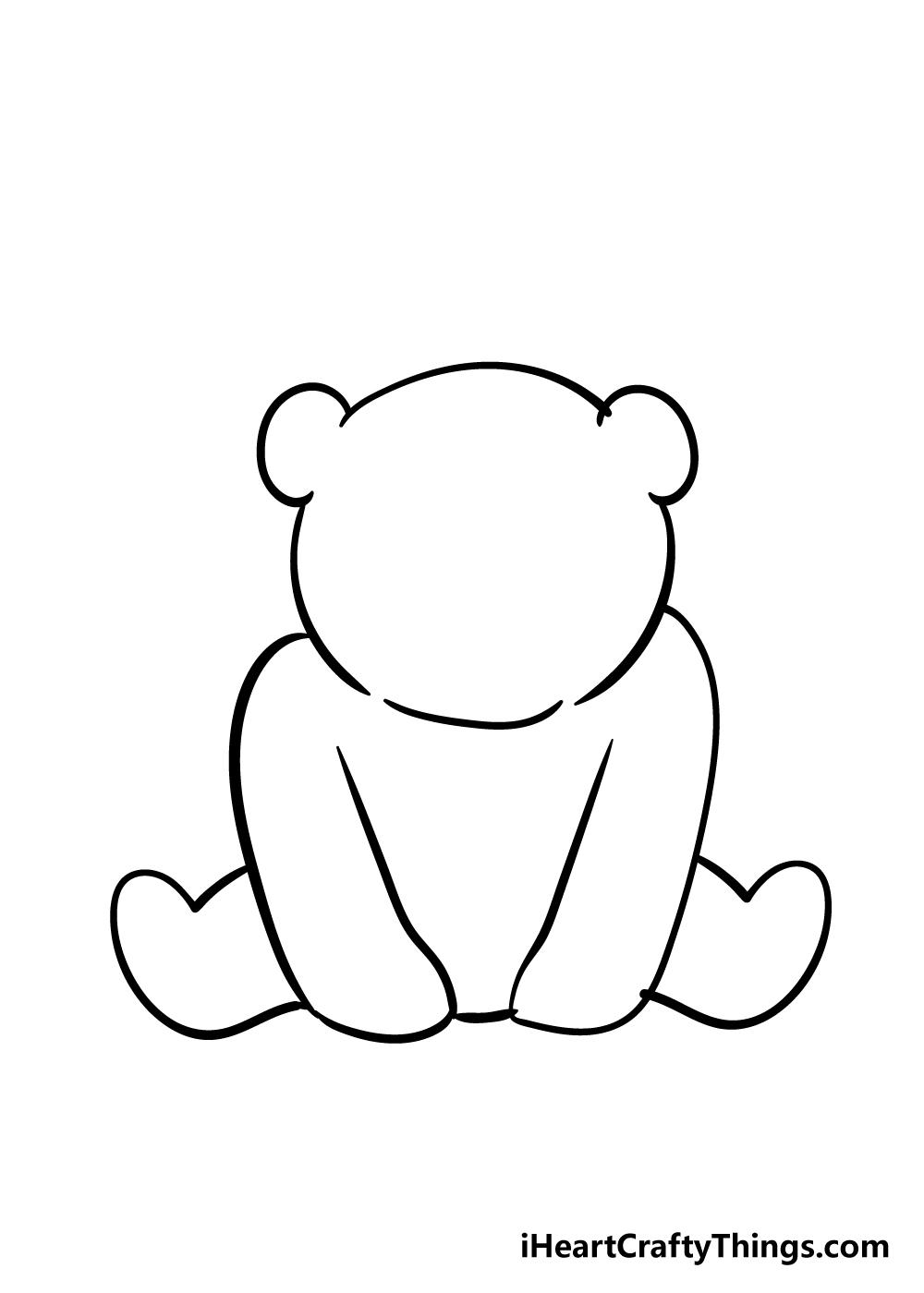 panda drawing step 4