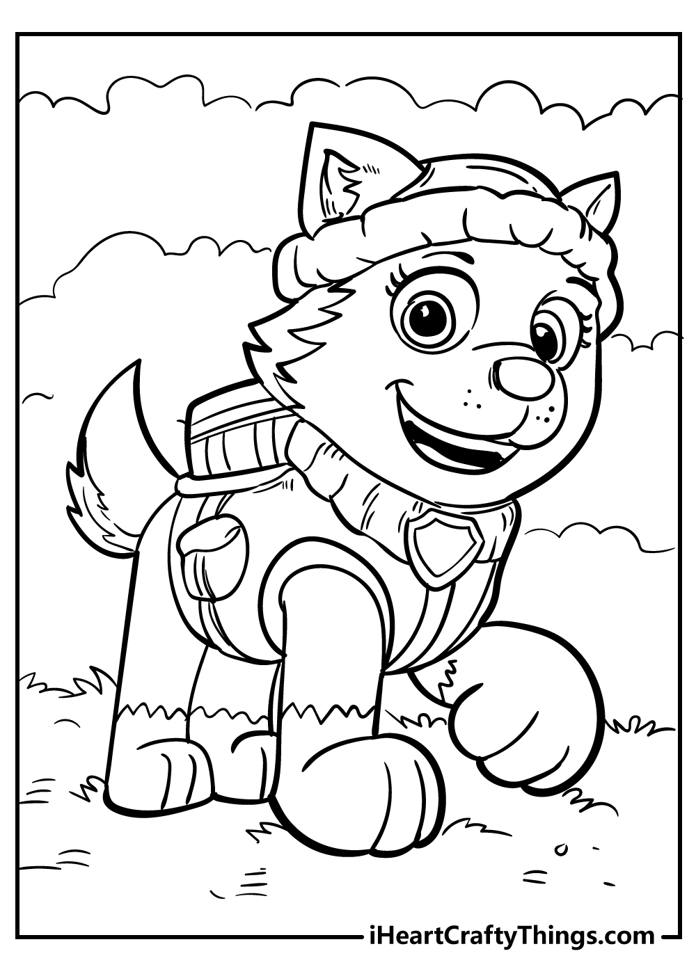 hard paw patrol coloring pages for adults