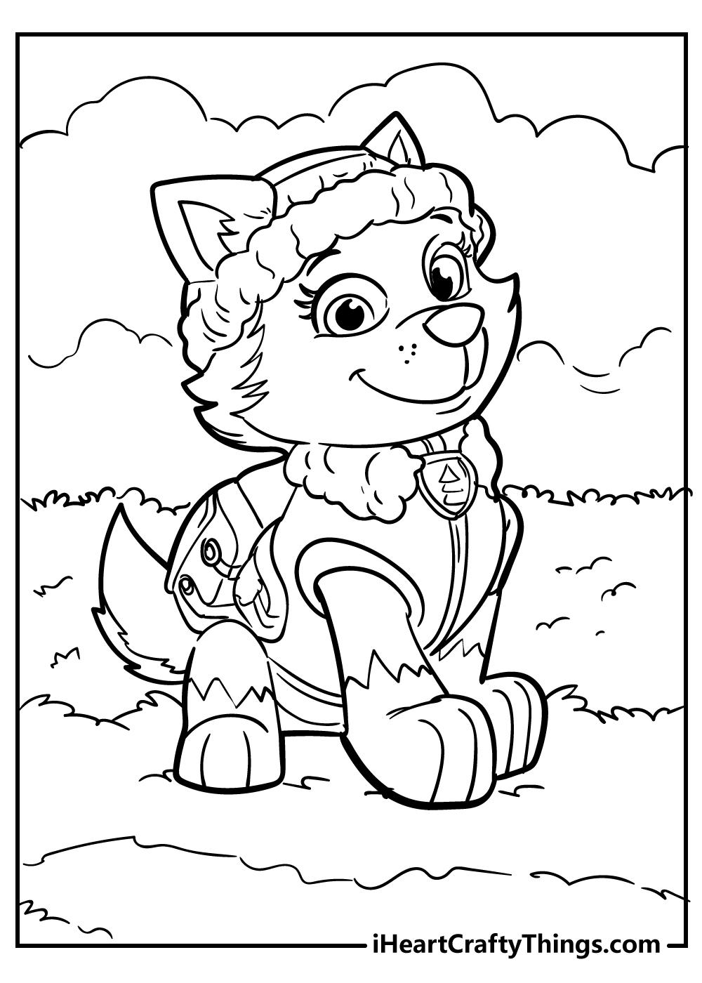 paw patrol printables free print out