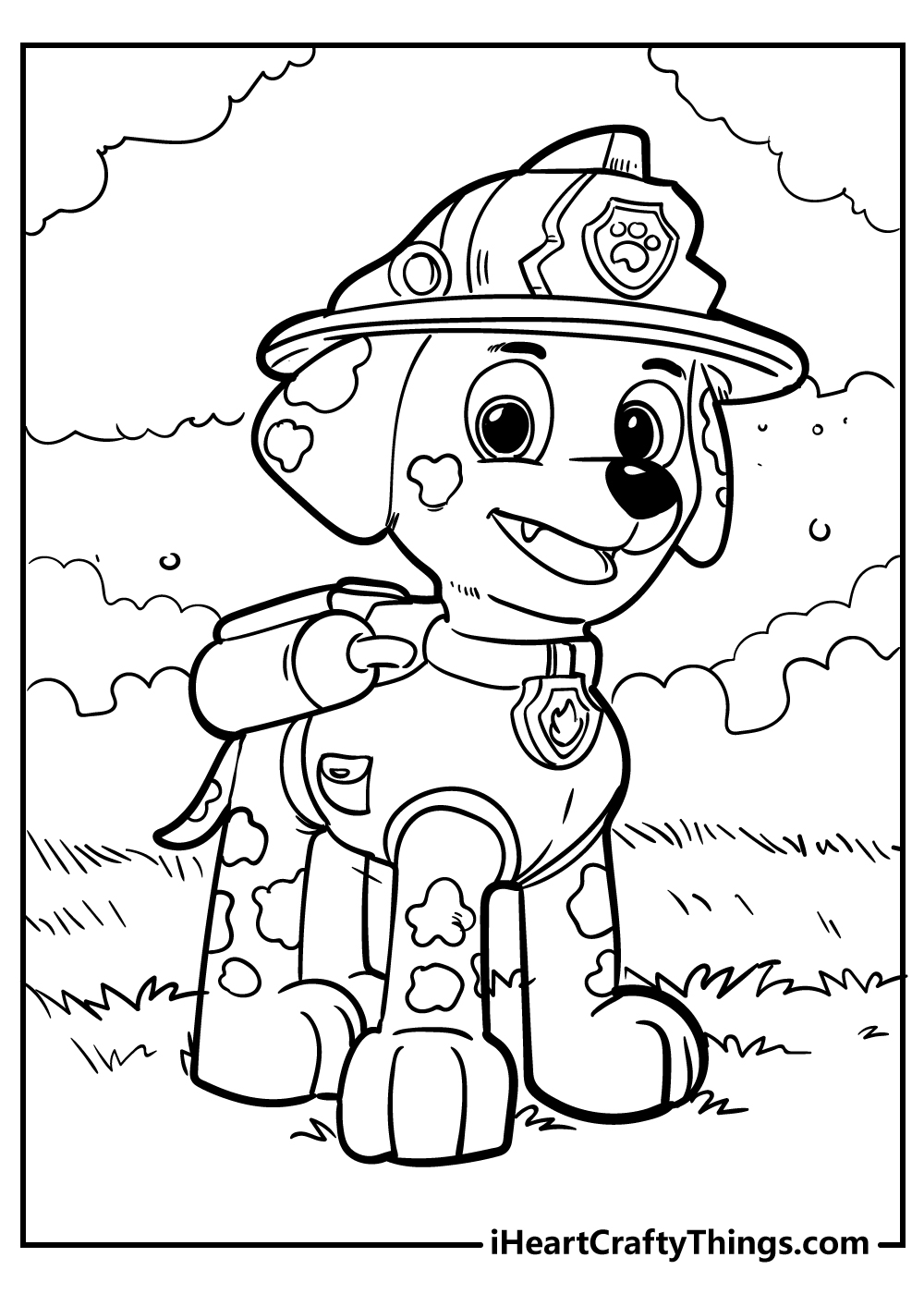 zuma paw patrol coloring pages for kids