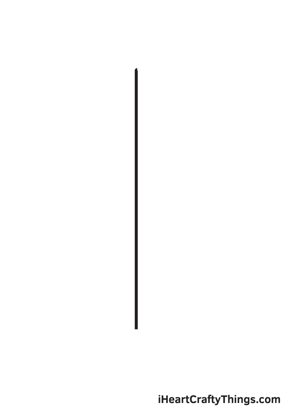 pencil drawing step 1