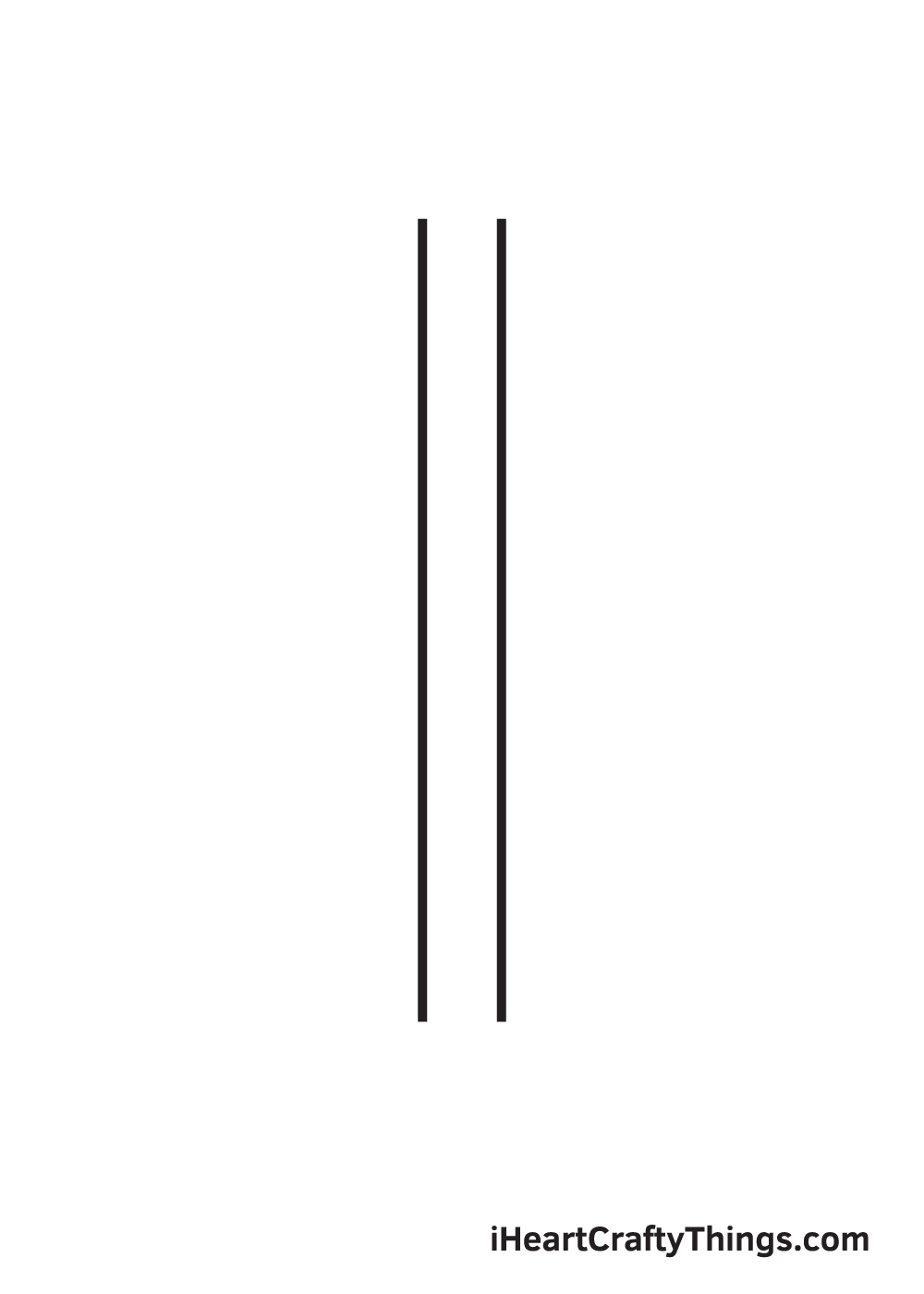 pencil drawing step 2