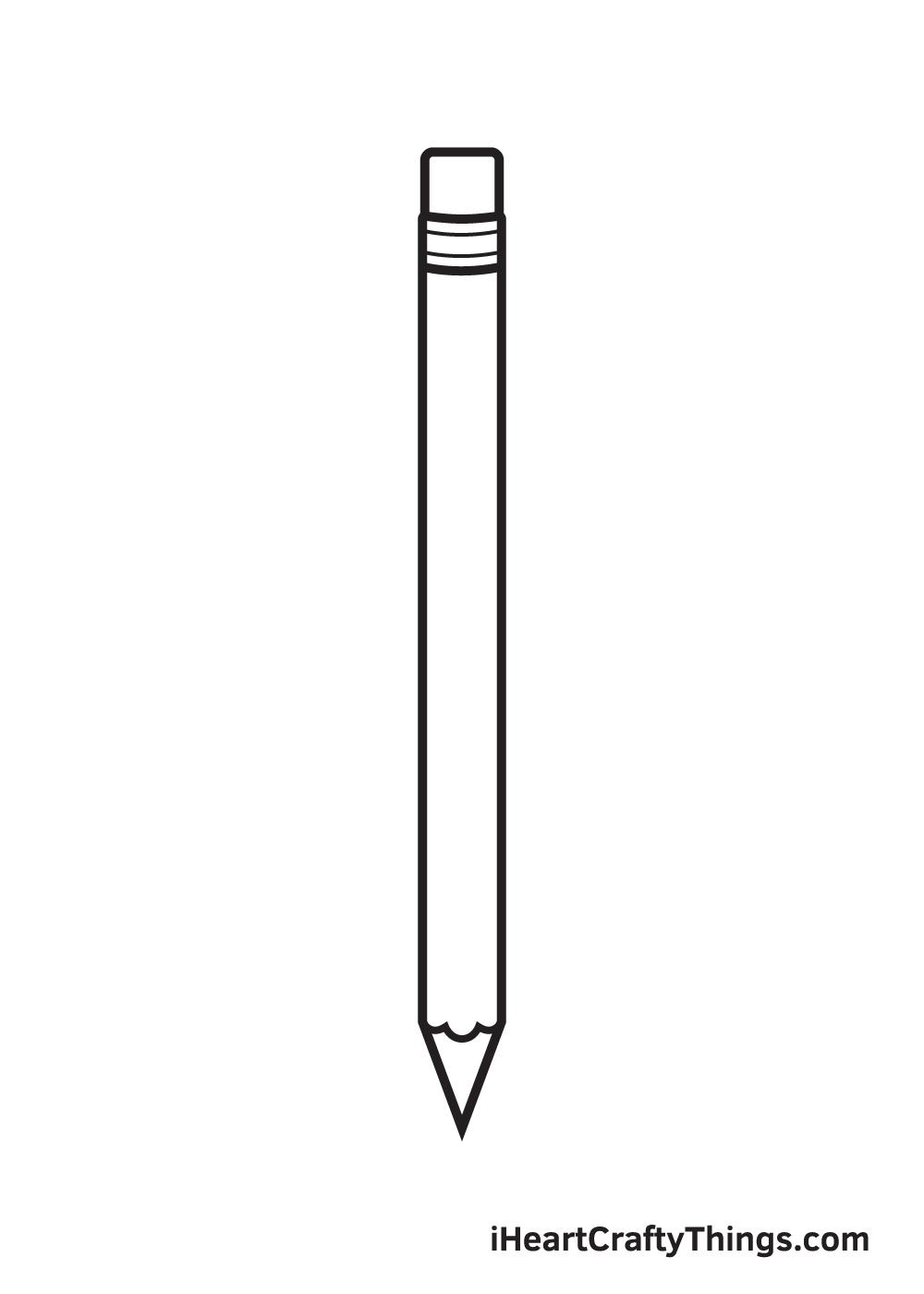 pencil drawing step 7