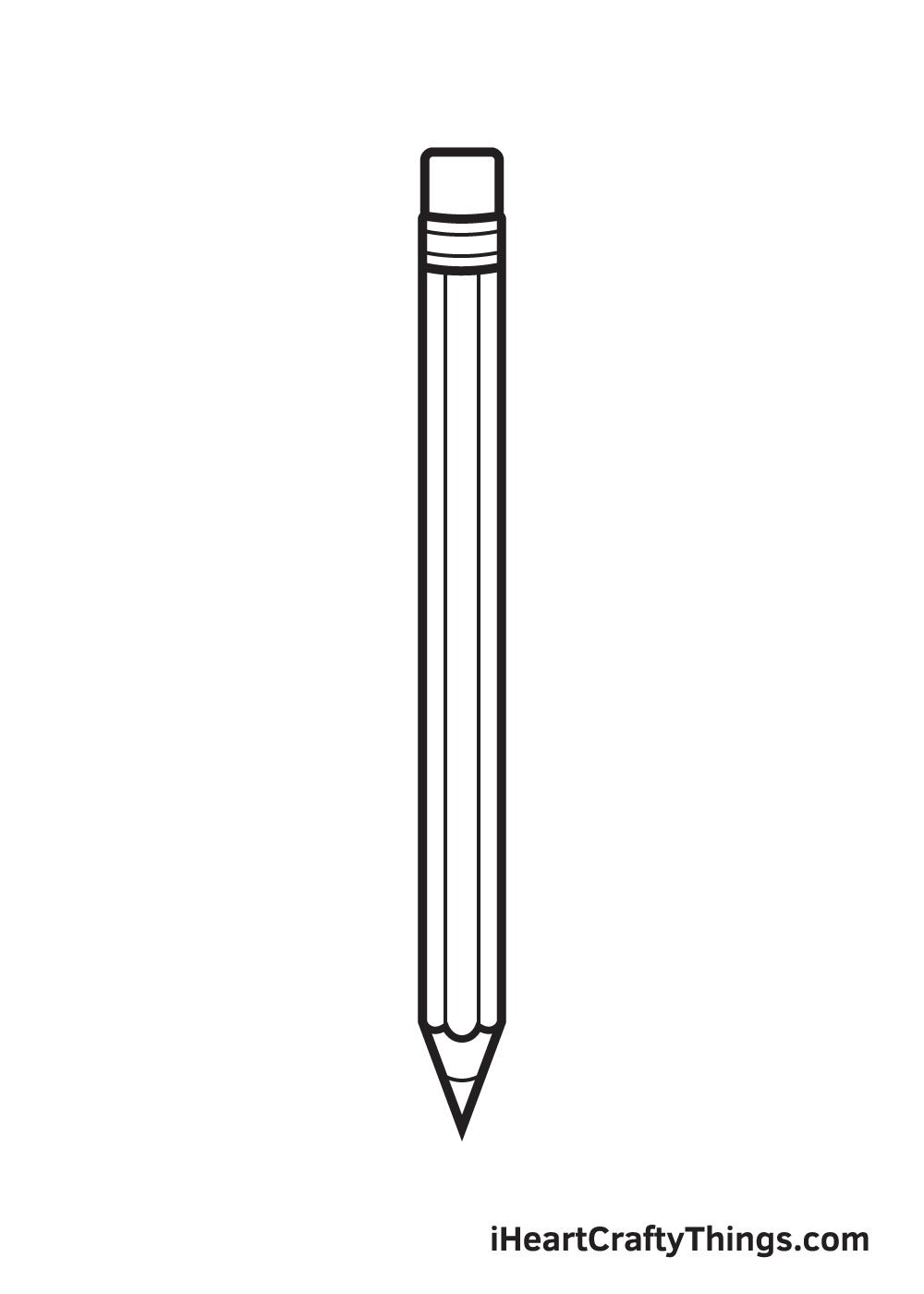 pencil drawing step 9