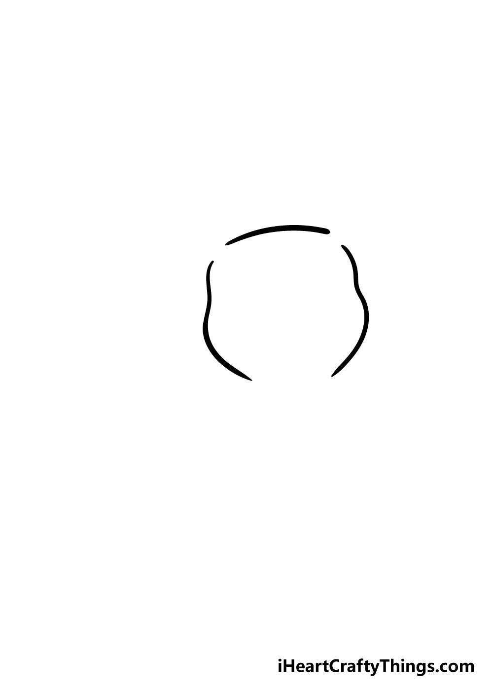 pikachu drawing step 1