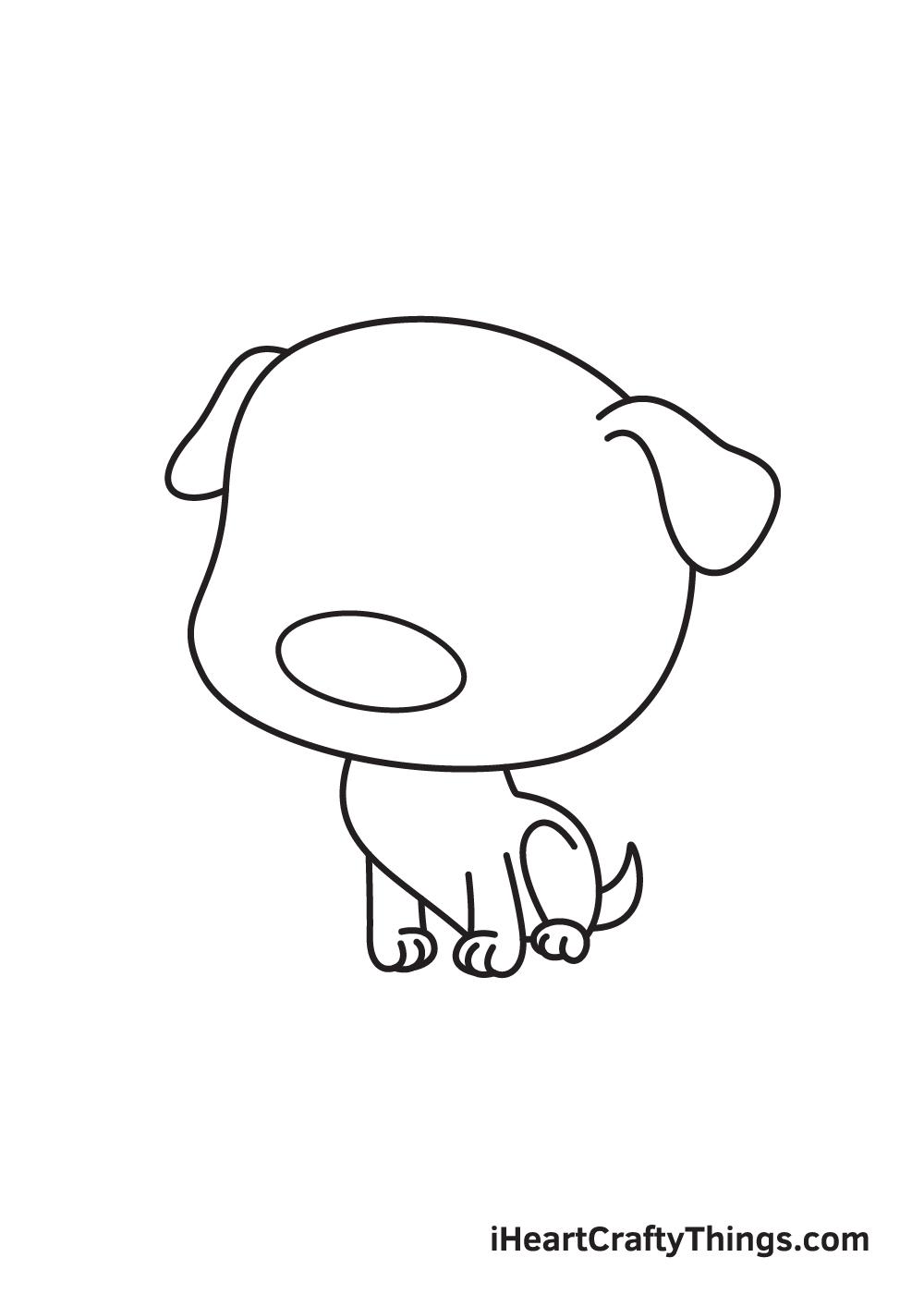 pug drawing step 6
