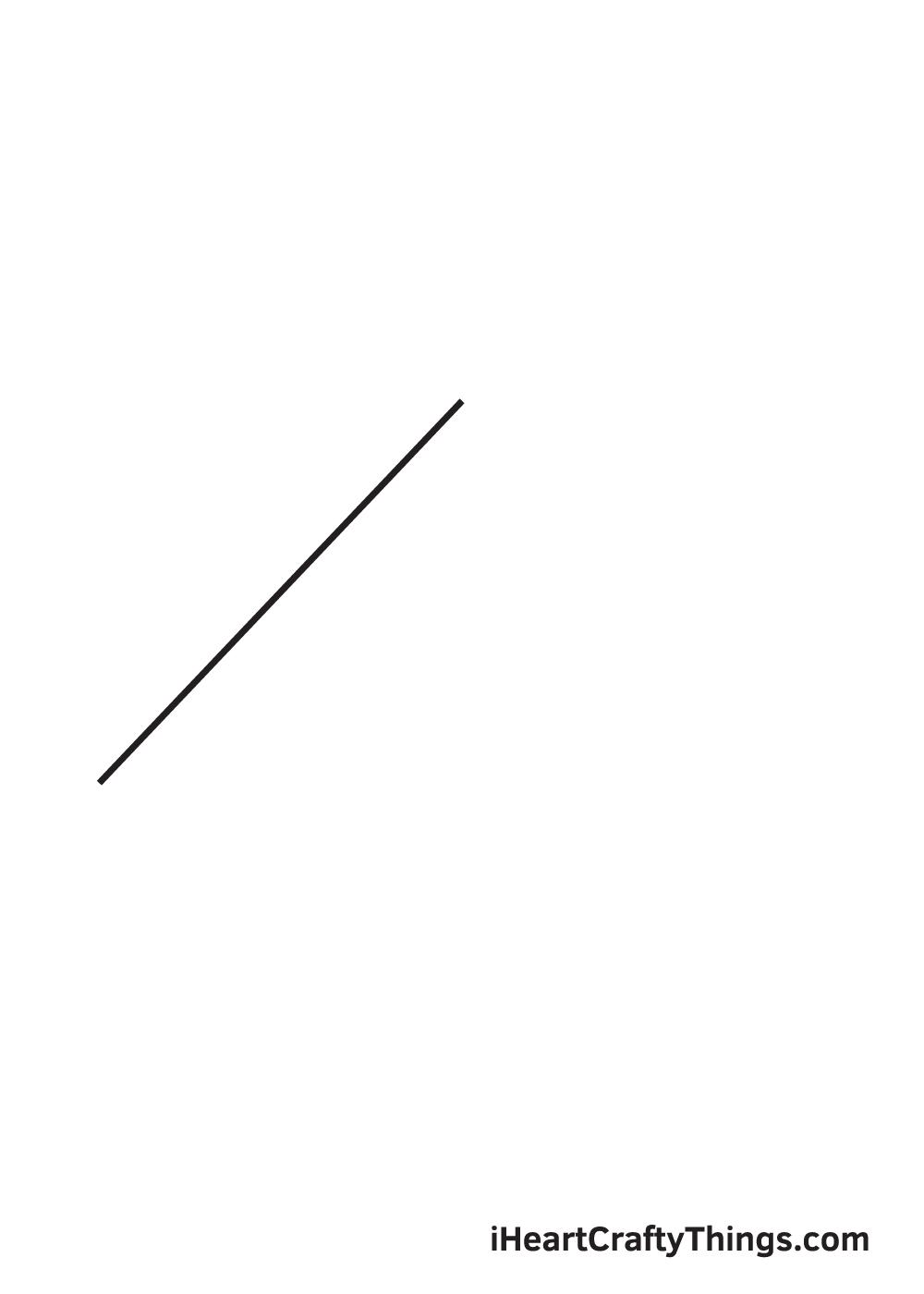 pyramid drawing step 1