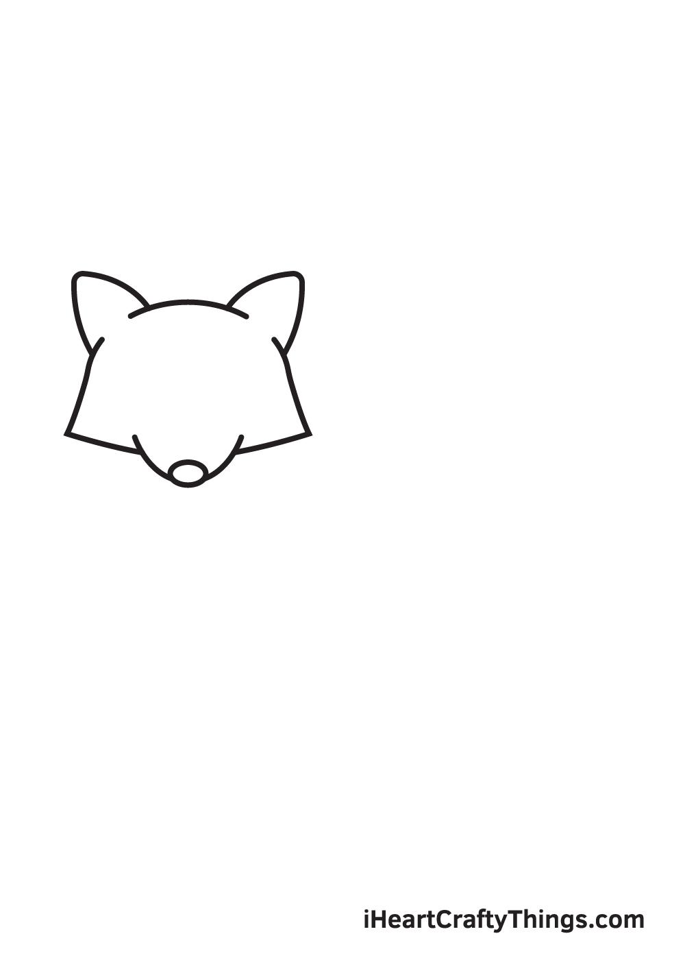 raccoon drawing step 4