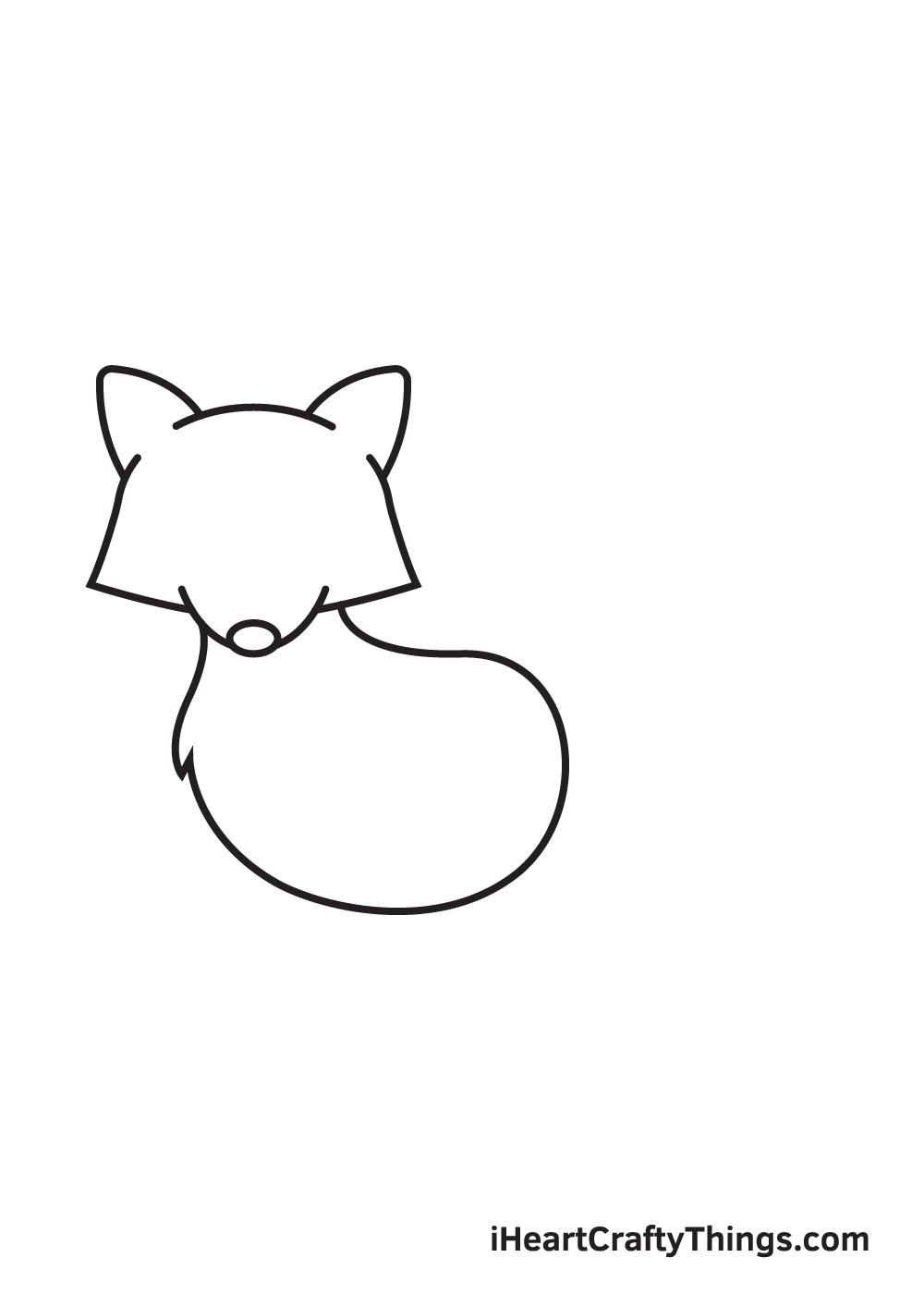 raccoon drawing step 5