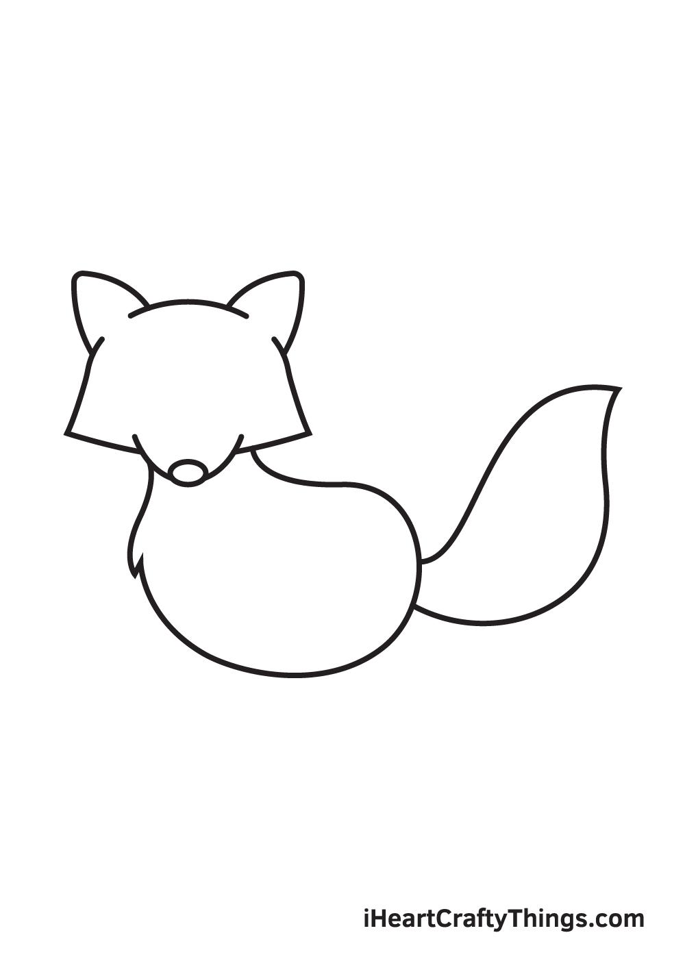 raccoon drawing step 6