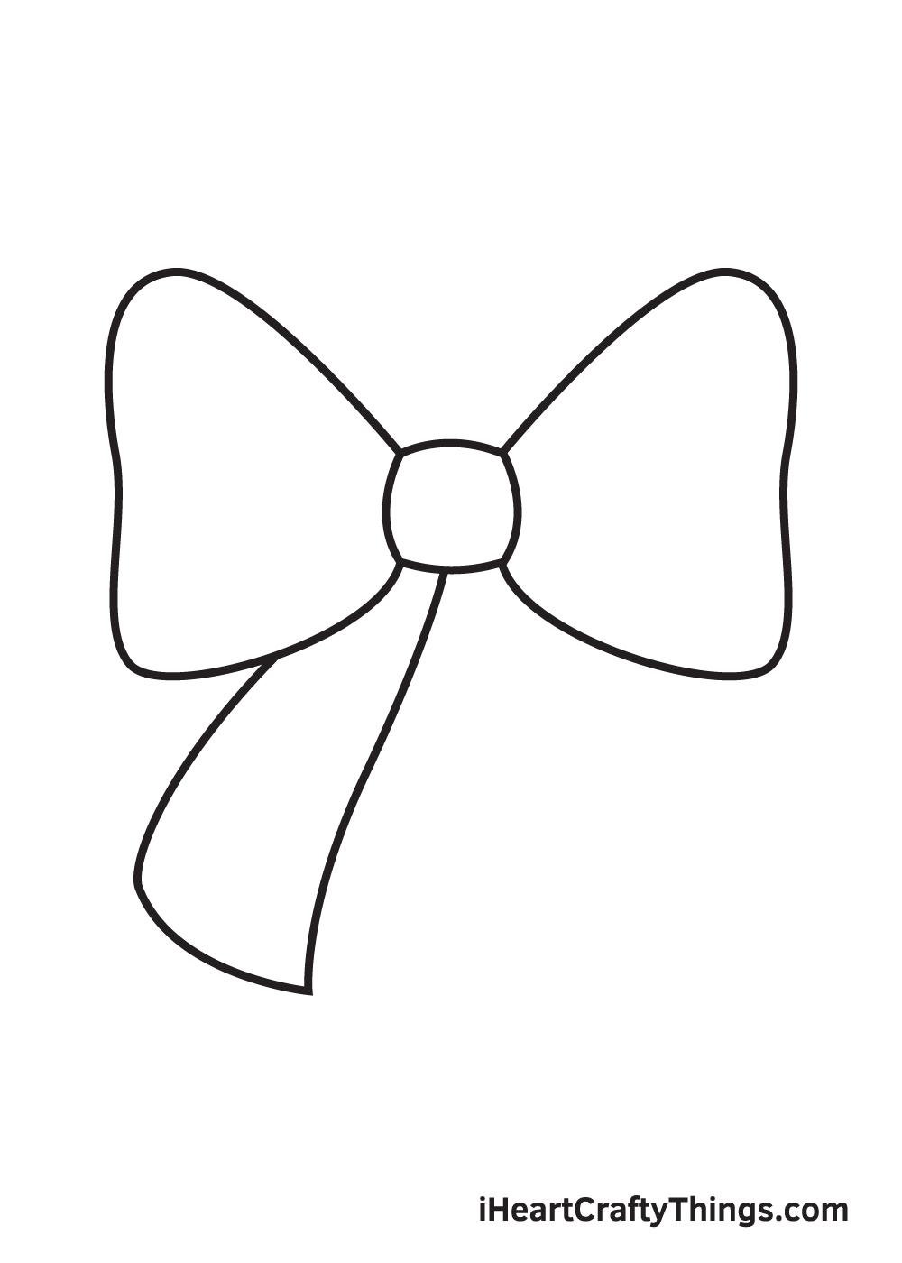 ribbon drawing step 4