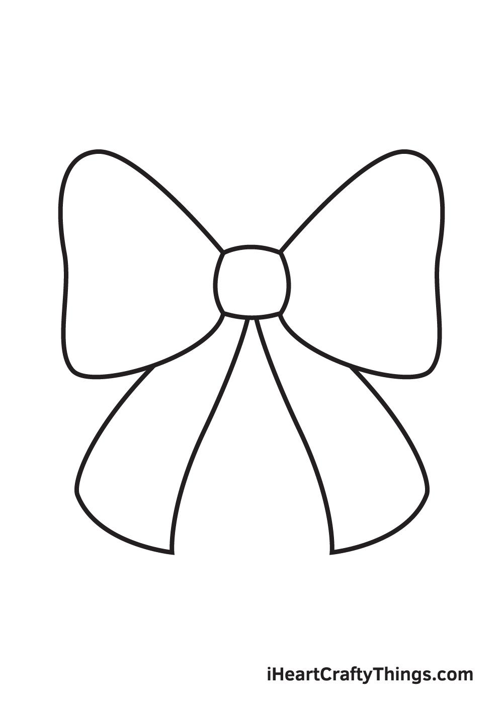 ribbon drawing step 5