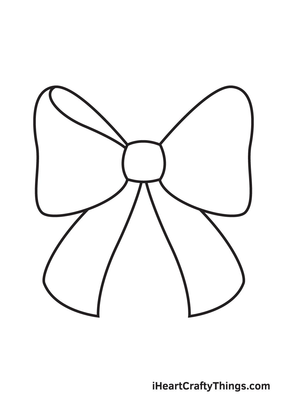 ribbon drawing step 6