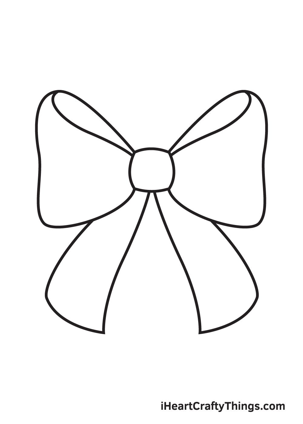 ribbon drawing step 7