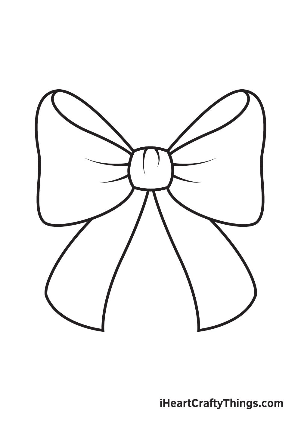 ribbon drawing step 8