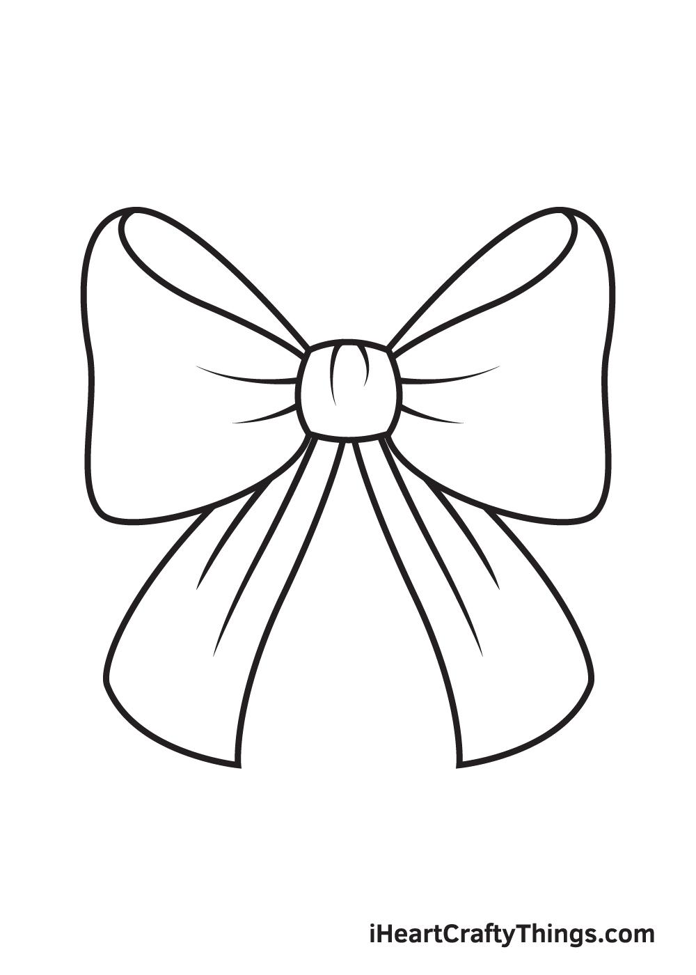 ribbon drawing step 9
