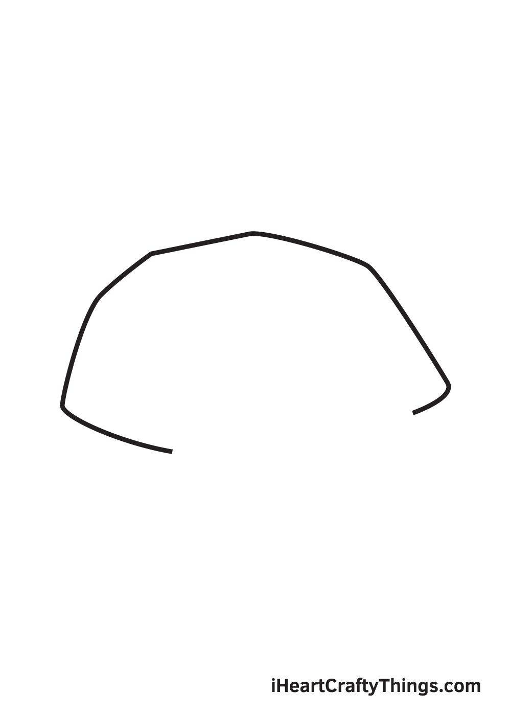 rock drawing step 1