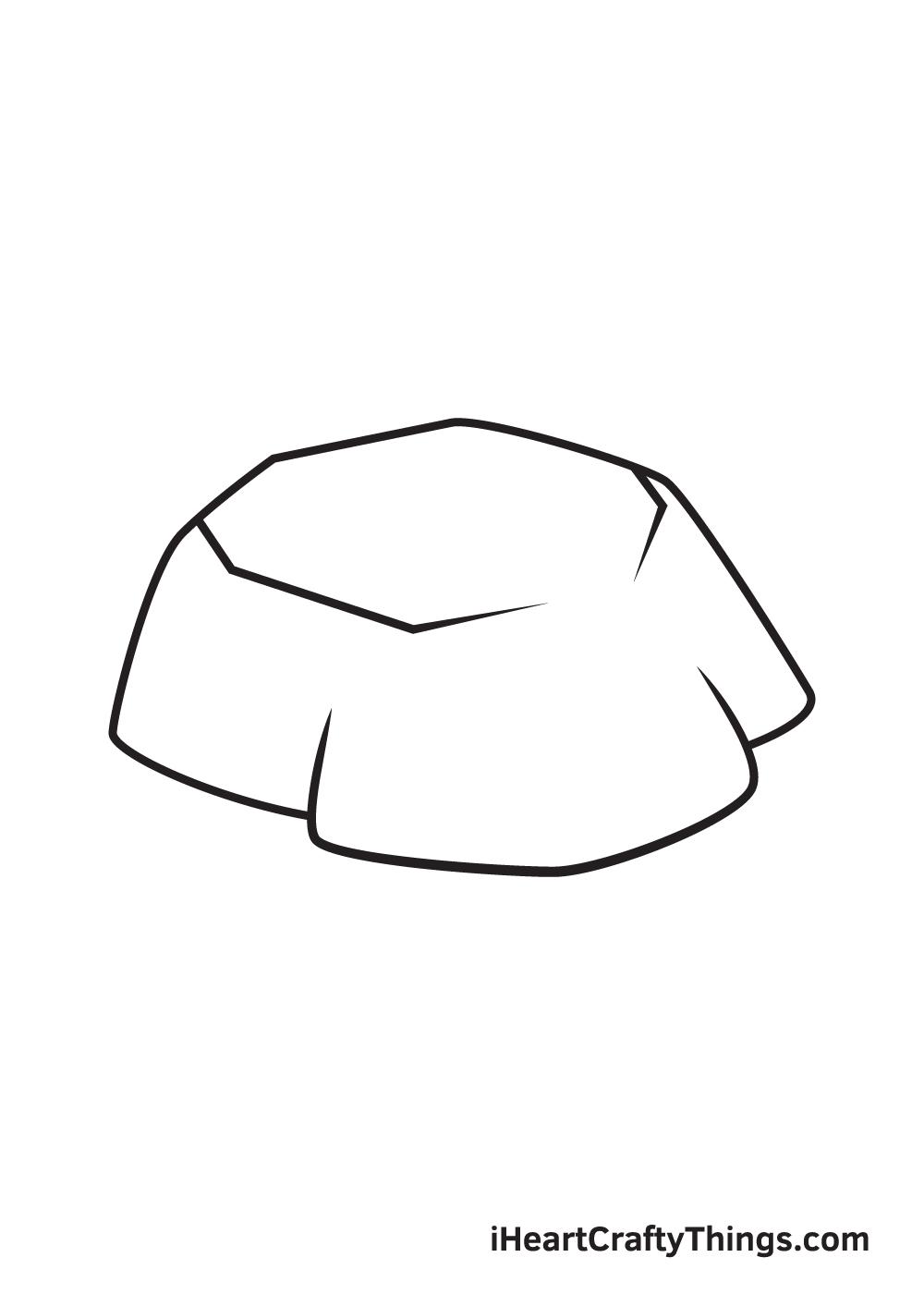 rock drawing step 4
