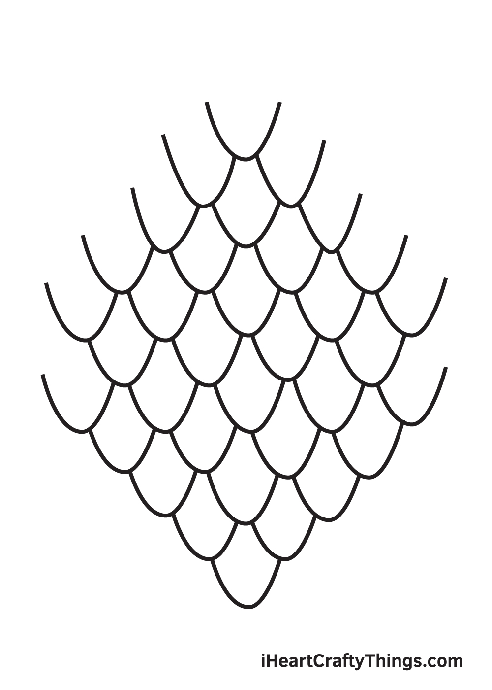 scales drawing step 9
