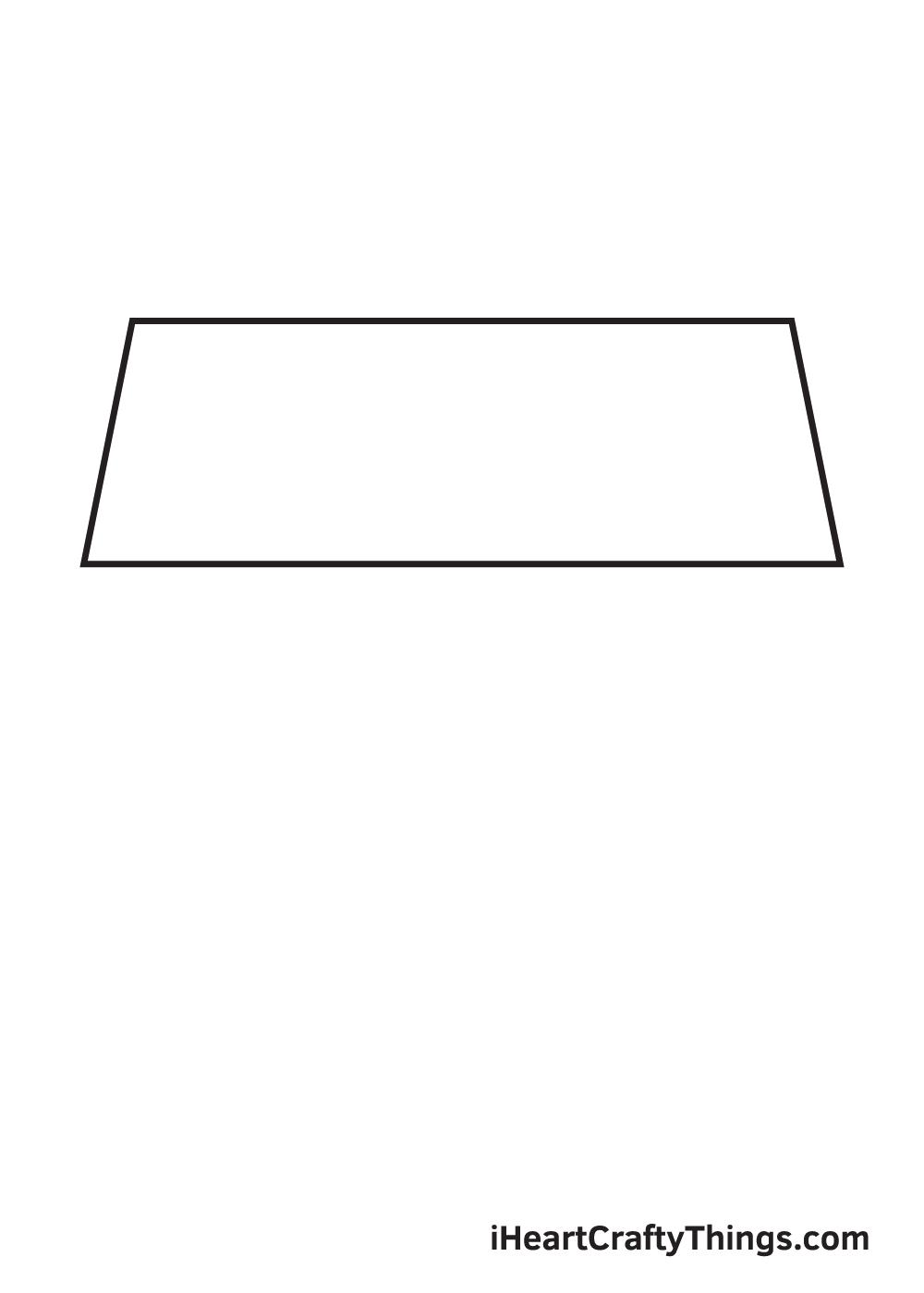 school drawing step 1