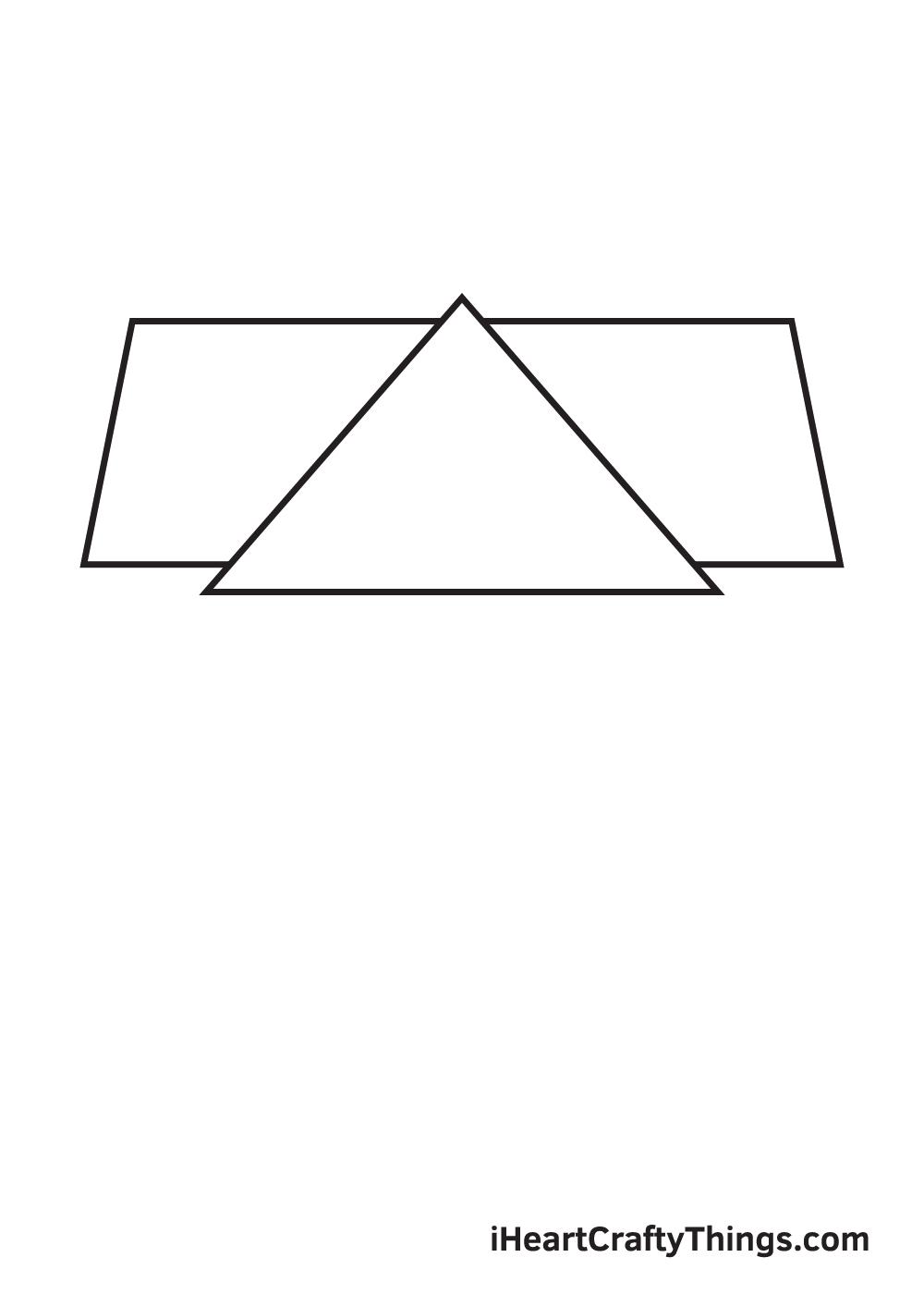 school drawing step 2