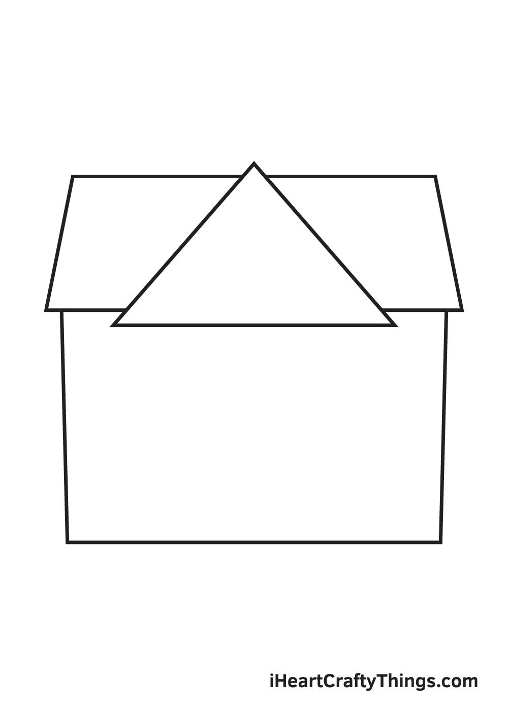 school drawing step 3