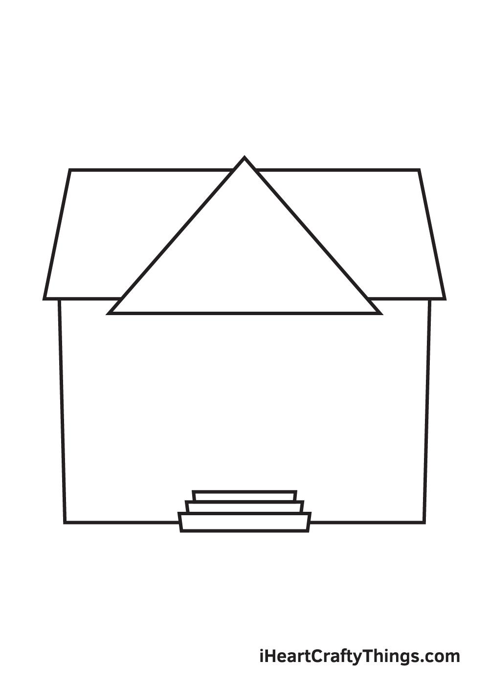 school drawing step 4