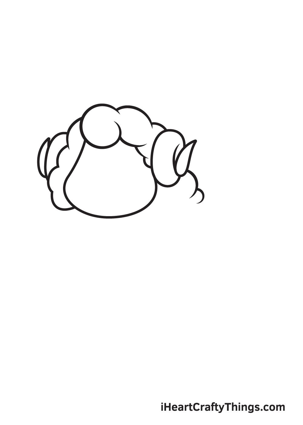 sheep drawing step 6