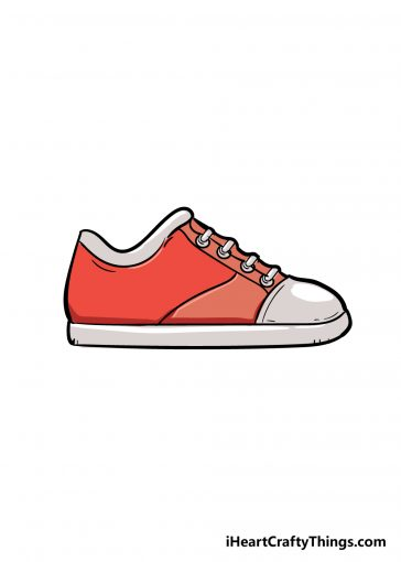 how to draw shoe image