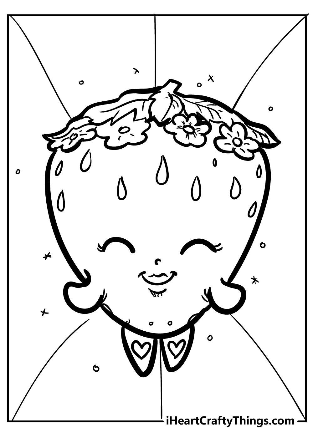 shopkins kiss coloring pages free download