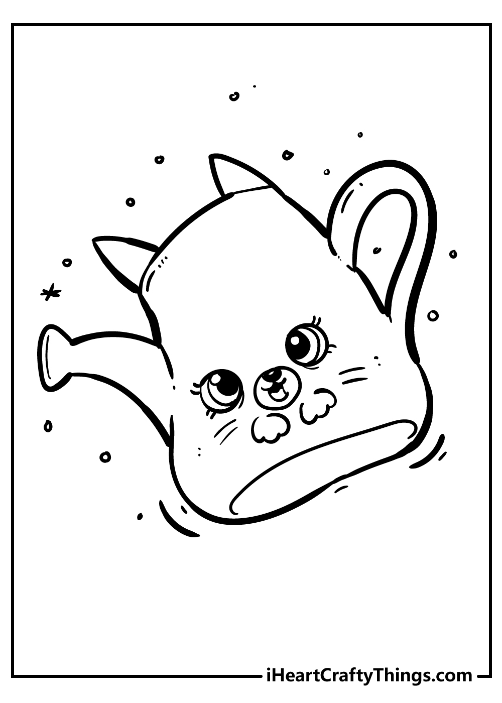 shopkins coloring pages printable free