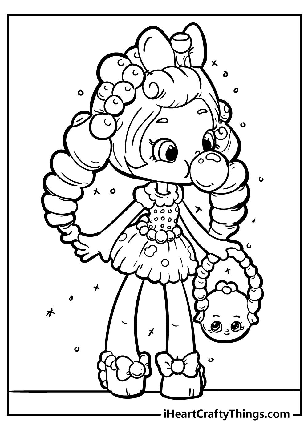 bubbleisha shopkins coloring pages printable
