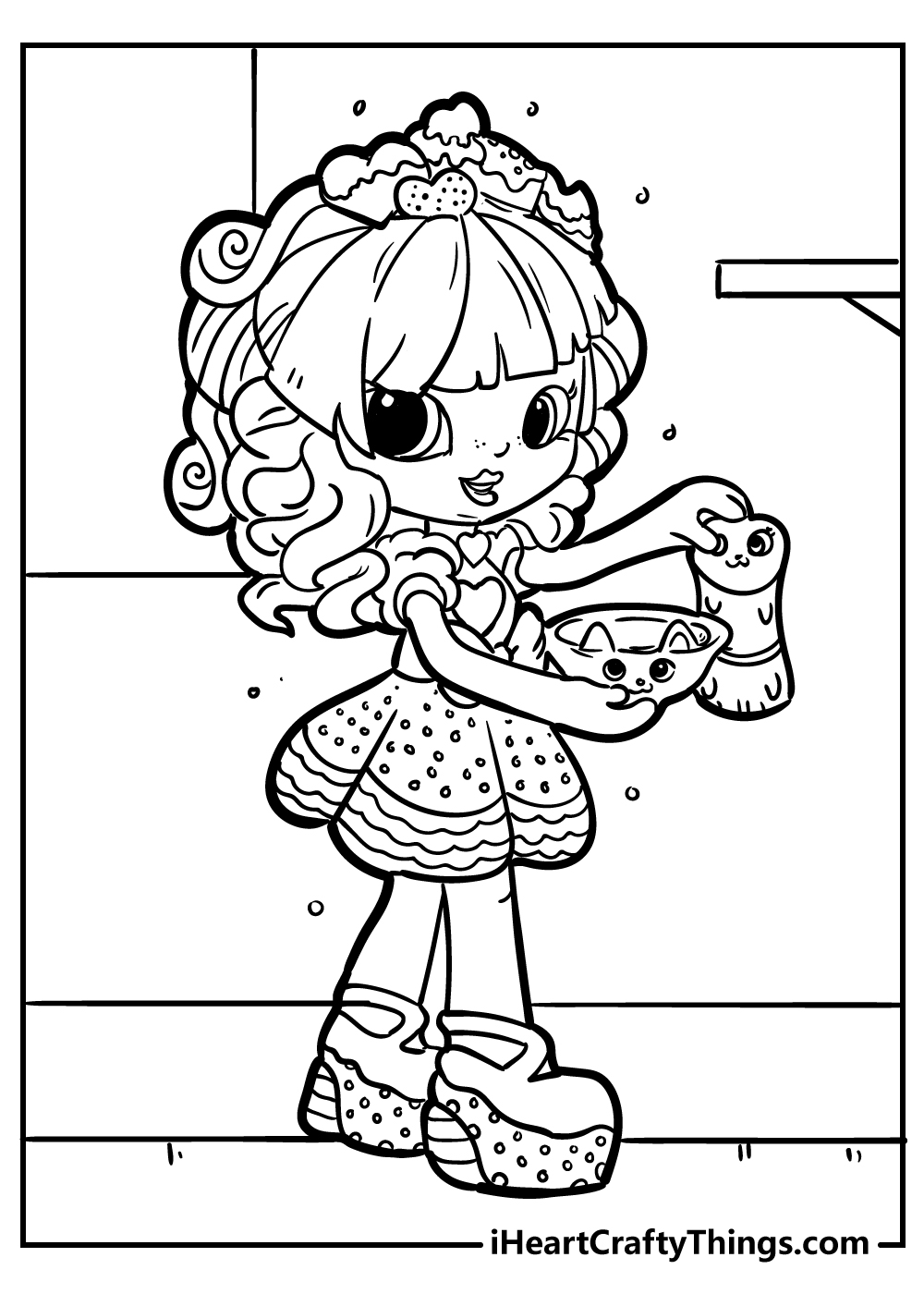 shopkins colouring pages free printable