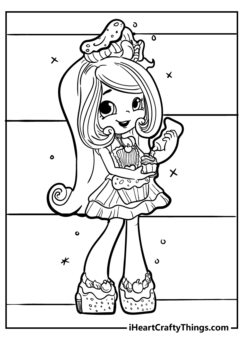 jessicake shopkins coloring pages free printable
