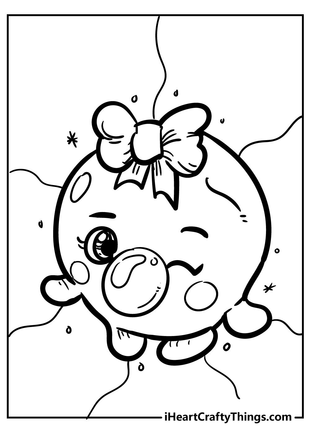 bubbles shopkins coloring pages free printable