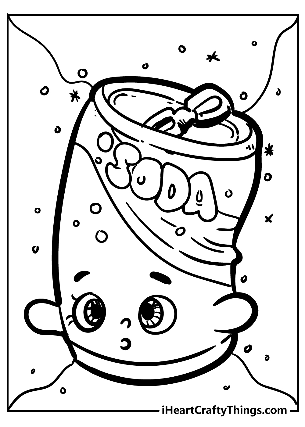 soda pops shopkins coloring pages print out free