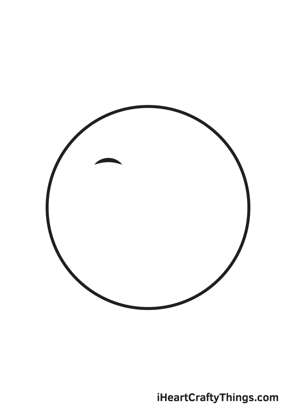 smile drawing step 2