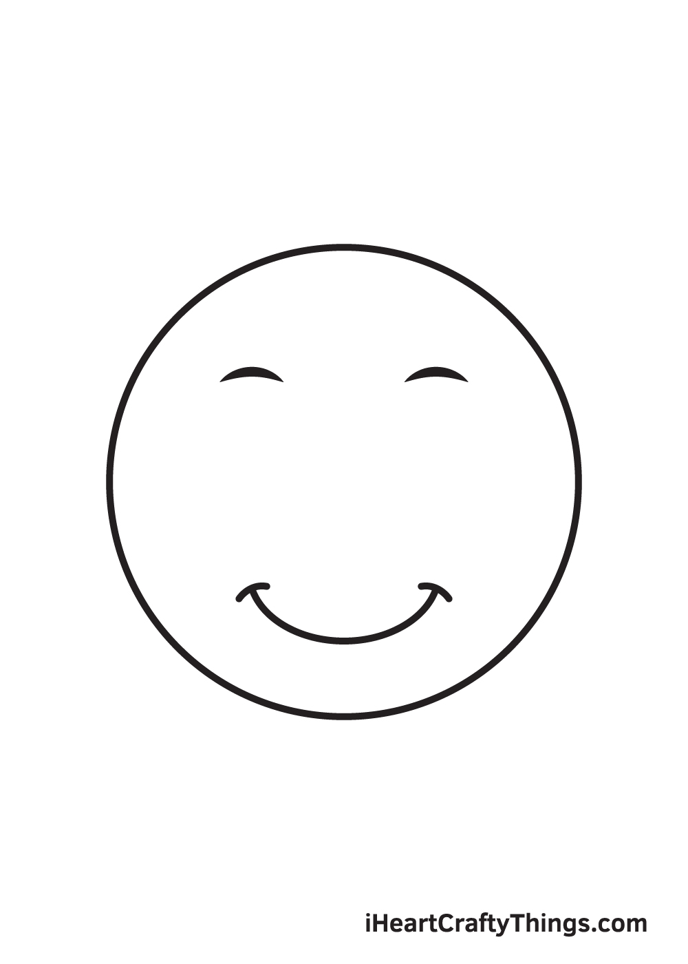 smile drawing step 6