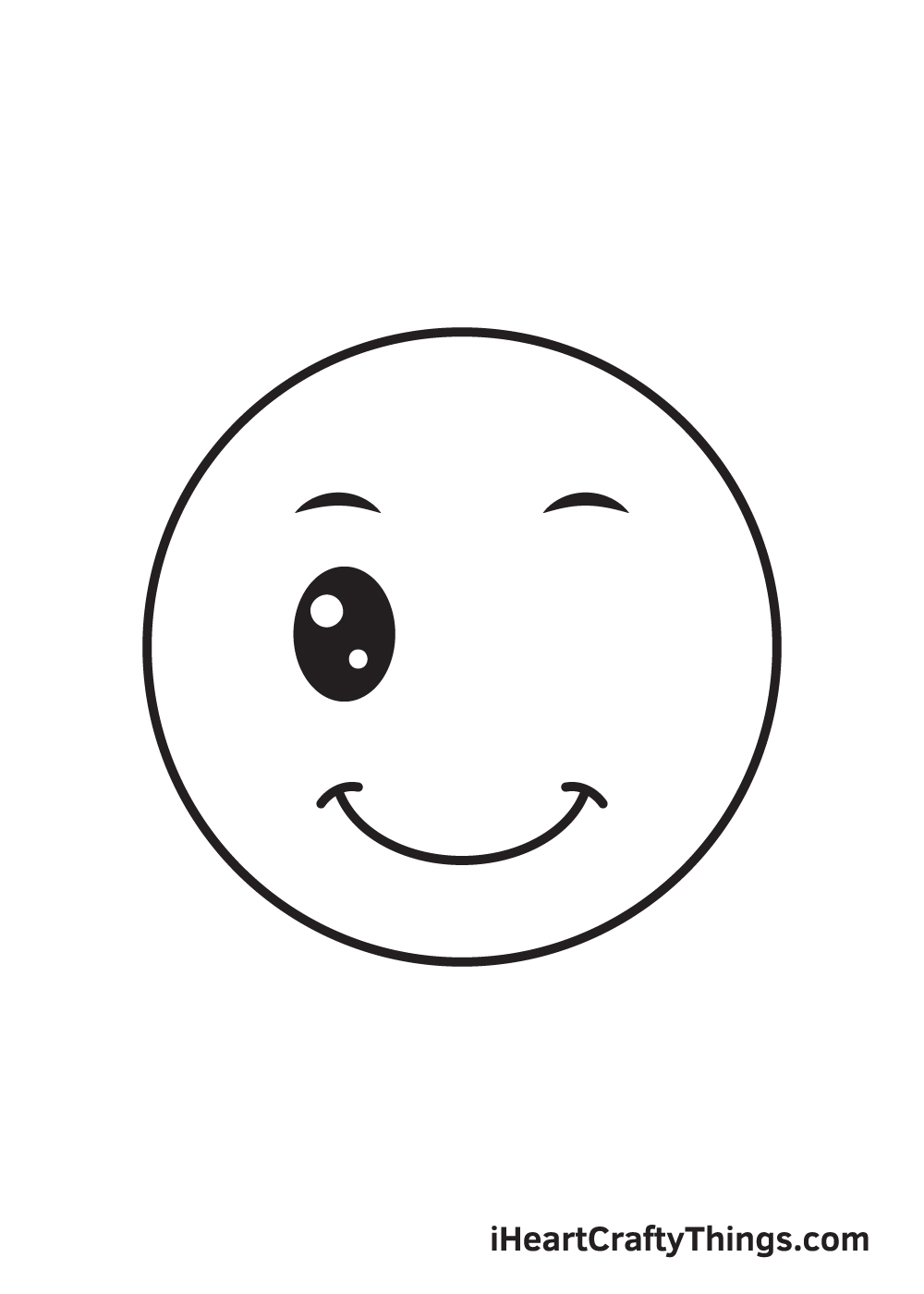 smile drawing step 7