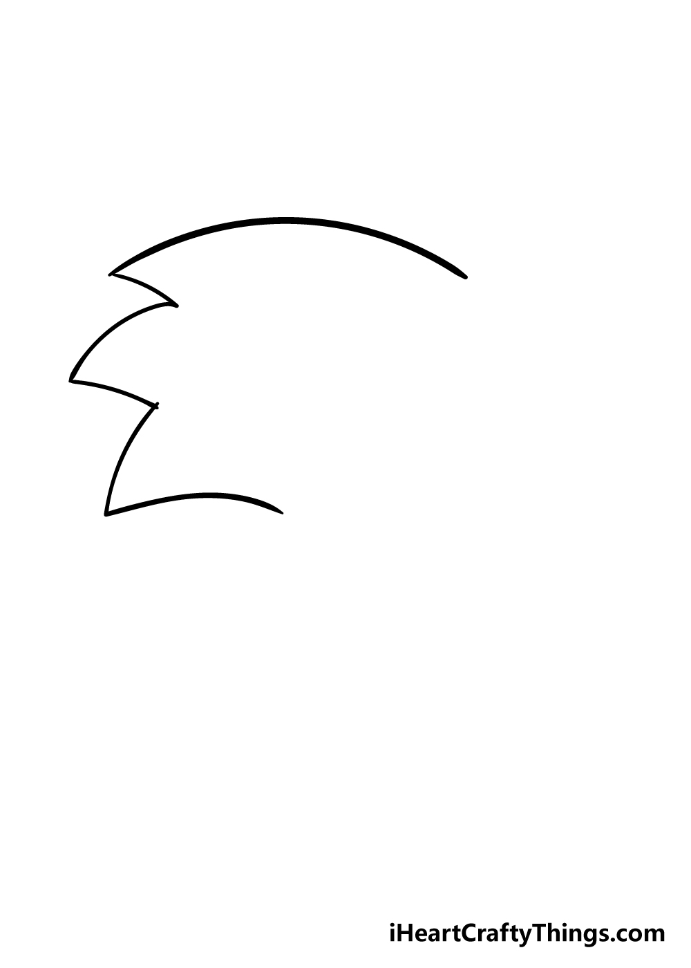 sonic drawing step 1