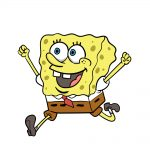 how to draw spongebob image