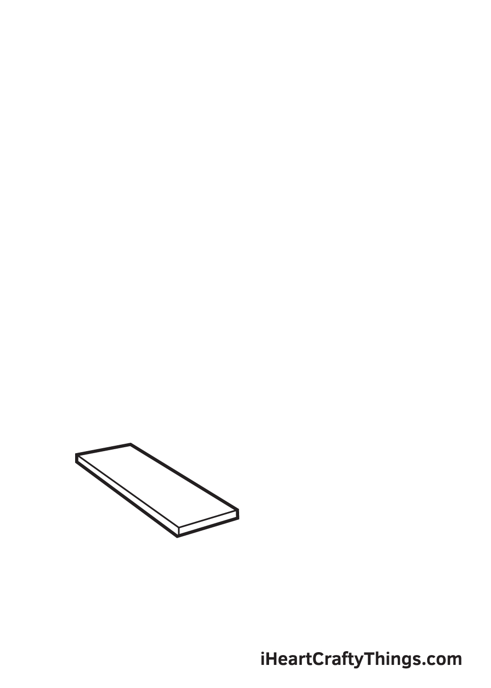 stairs drawing step 1