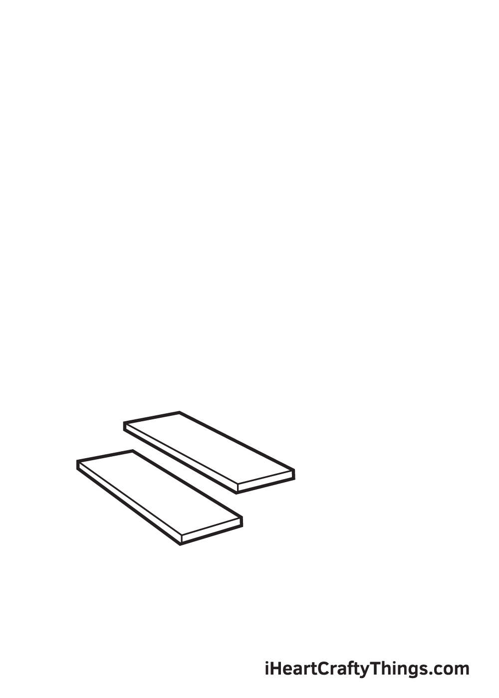 stairs drawing step 2