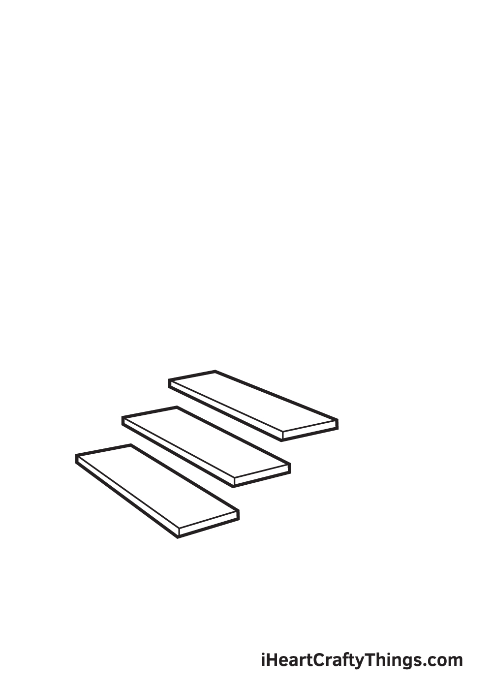 stairs drawing step 3